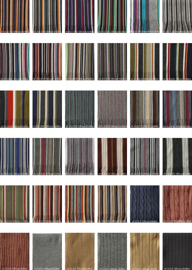 gebreide shawls