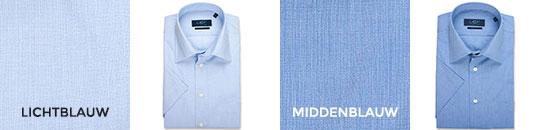 overhemden 60/40 korte mouw