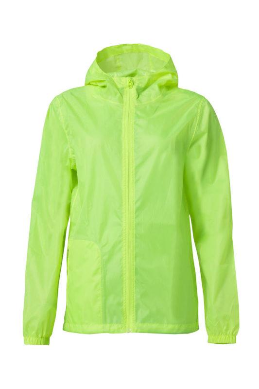 Rain Jacket geel