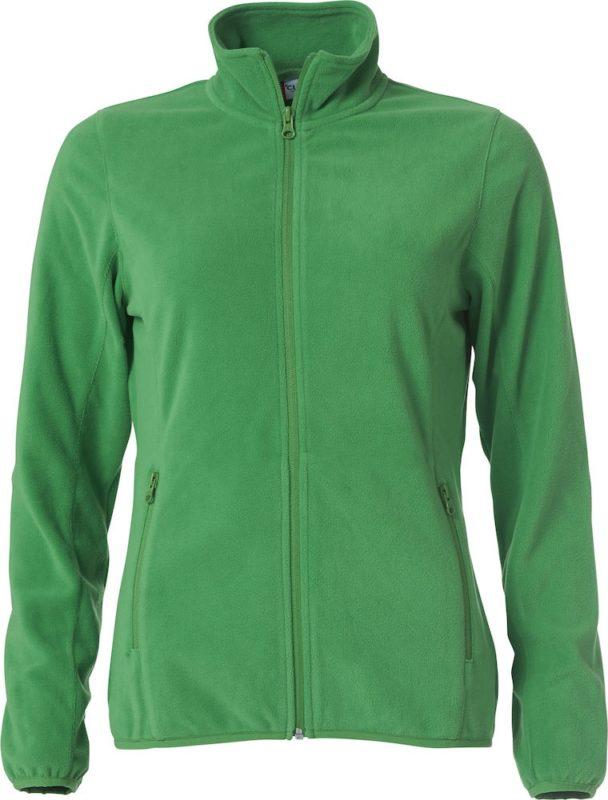 Fleecevest groen