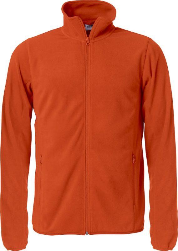Fleecevest oranje